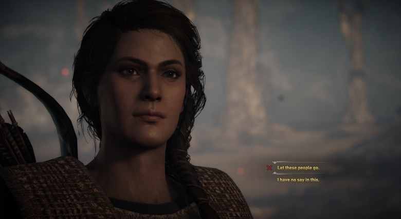 The Blood Fever choices assassin's creed odyssey kephallonia island