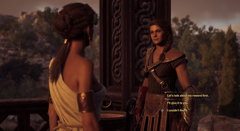 In the Footsteps of Gods choices assassin's creed odyssey kephallonia island