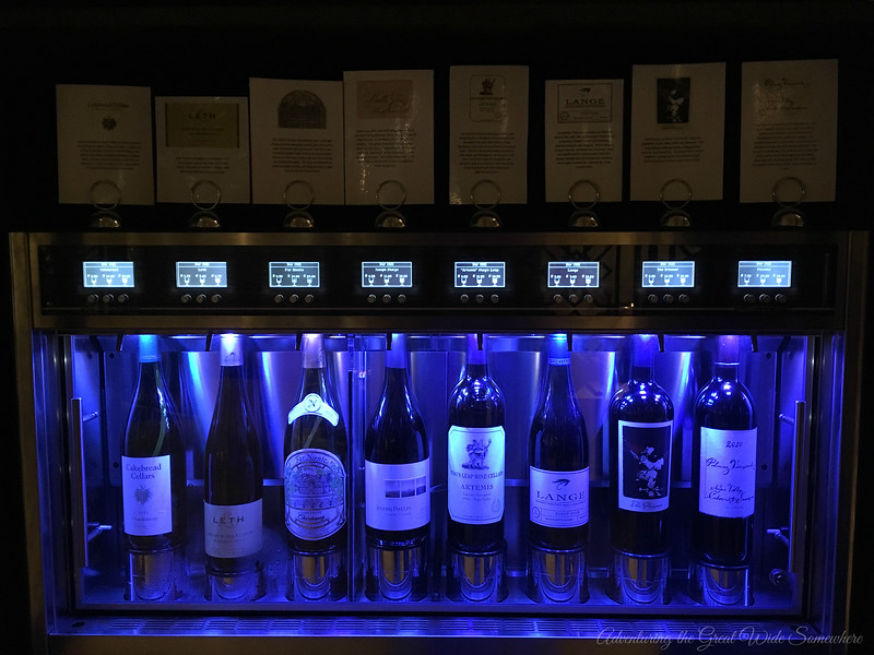 A Selection of Wines at Bar 1521 at the Wyndham Grand Orlando Resort Bonnet Creek