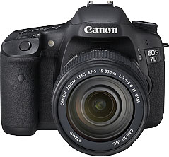 Canon EOS 7D product photograph