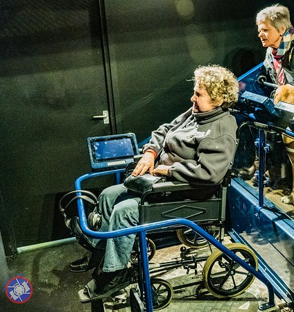 Specially Designed Car for Touring the Jorvik Viking Experience in a Wheelchair (©simon@myeclecticimages.com)