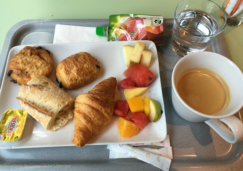 Enjoy a typical French breakfast of pastries, meats and coffee when you stay at the Ibis Styles CDG in Paris, France. The complimentary breakfast is the perfect way to treat yourself before a long flight out of CDG.
