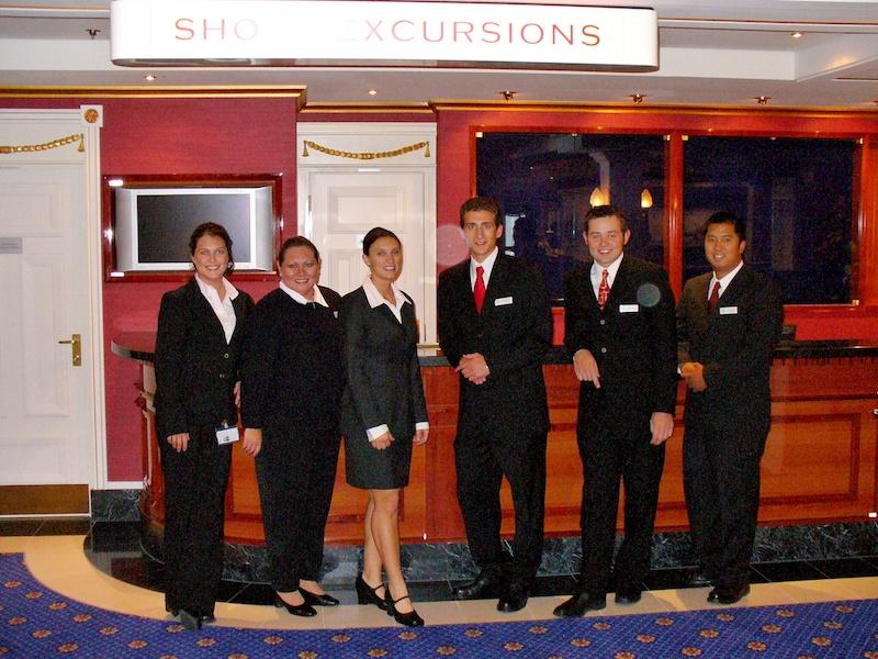 Traveled the world - cruise ship