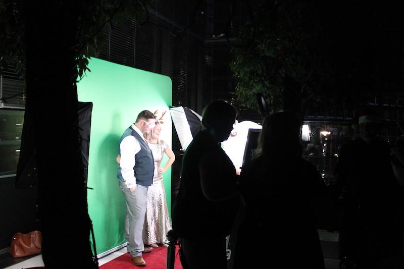Green Screen Set-up Pics