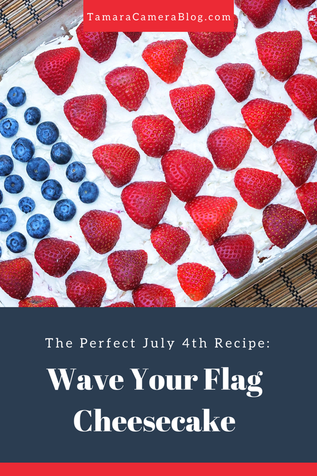 Having a July 4th or summer party? My Wave Your Flag Cheesecake is the PERFECT recipe for a summer day. Head to Walmart for easy ingredients. #ad #GrabGoWow