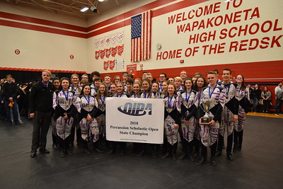 2018 Ohio Indoor Performance Association Championshiops - Percussion and Winds