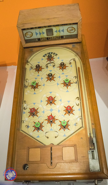 Early Example of a Pinball Machine in the Strong Museum of Play (©simon@myeclecticimages.com)