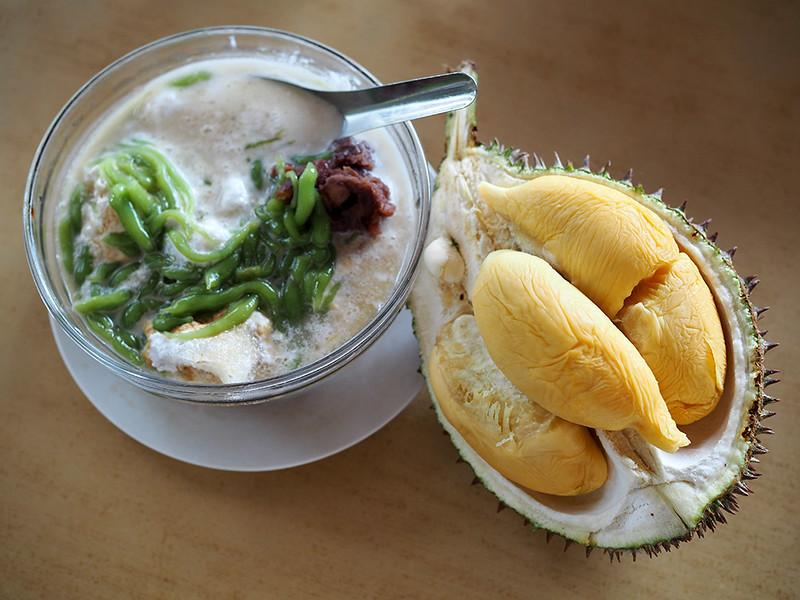 durian cendol