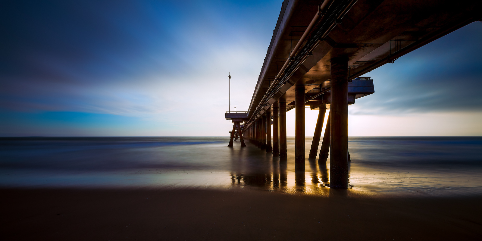 Beneath The Venice Pier