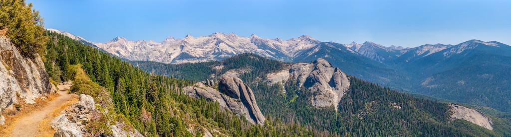 High Sierra Trail, Day 1: Crescent Meadow to Bearpaw Meadow