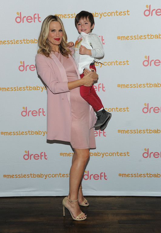 Molly Sims Hosts Dreft America's Messiest Baby Contest