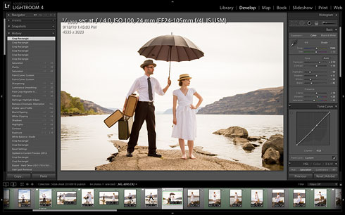 Adobe Photoshop Lightroom 4 Develop module