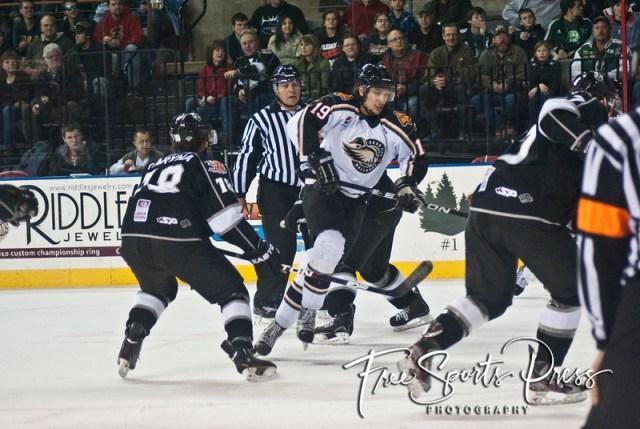 Rush vs Mallards (12/15/2012)