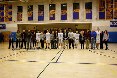 2019-02-15 vs Montville - Senior Night