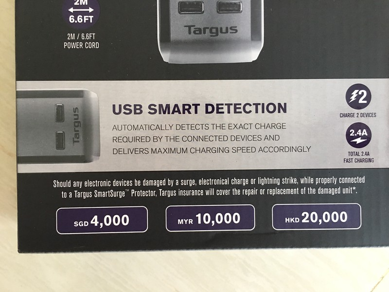 Targus Smartsurge 4 USB Surge Protector