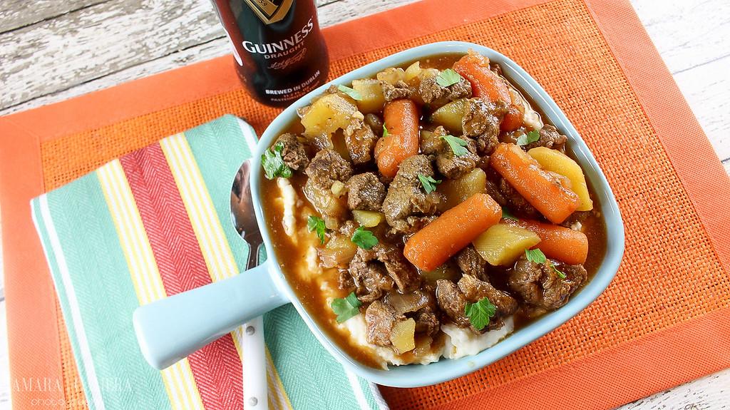 Slow Cooker Guinness Irish Beef Stew