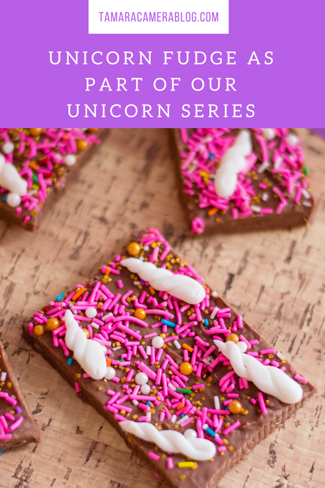 This is a unicorn party food fit for a unicorn kid, or any kid or adult, for that matter. What's not to love with pretty food in pretty colors + SPRINKLES!