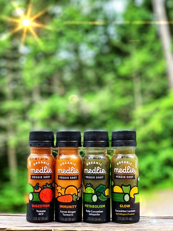 #ad Enter our giveaway to win Medlie Wellness Shots and also a $50 Amazon gift card! Medlie Wellness Shots are a must-have for your summer of wellness! #HPPSummerVibes