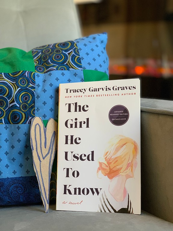 My favorite spring book review. The Girl He Used to Know is an incredible, can't-miss, must-read. It's perfect for spring break! Get it now #ad #ReadTheGirl