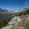 Bear Creek Spire dominates the view.