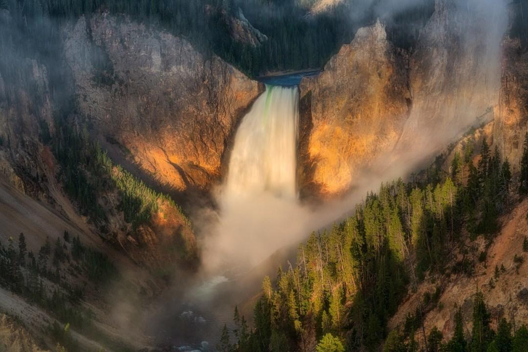 Lower Yellowstone Falls Grand Canyon of the Yellowstone
