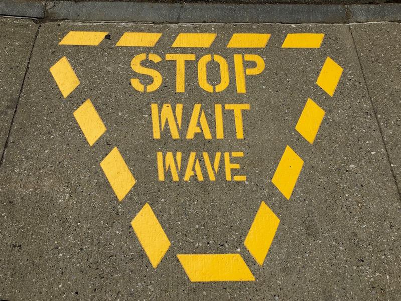 Stop wait wave