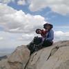 On the summit. Yay!