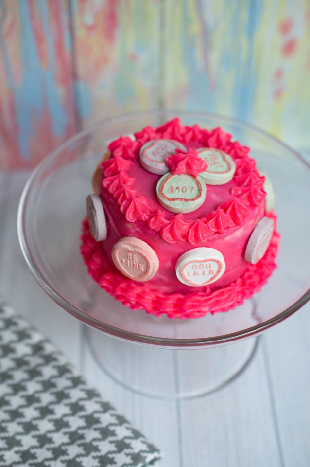 Nothing shows love like Valentine's Day Mini Ombre Cake. You can make them for your sweetheart and blow them away with a romantic dinner & dessert together!