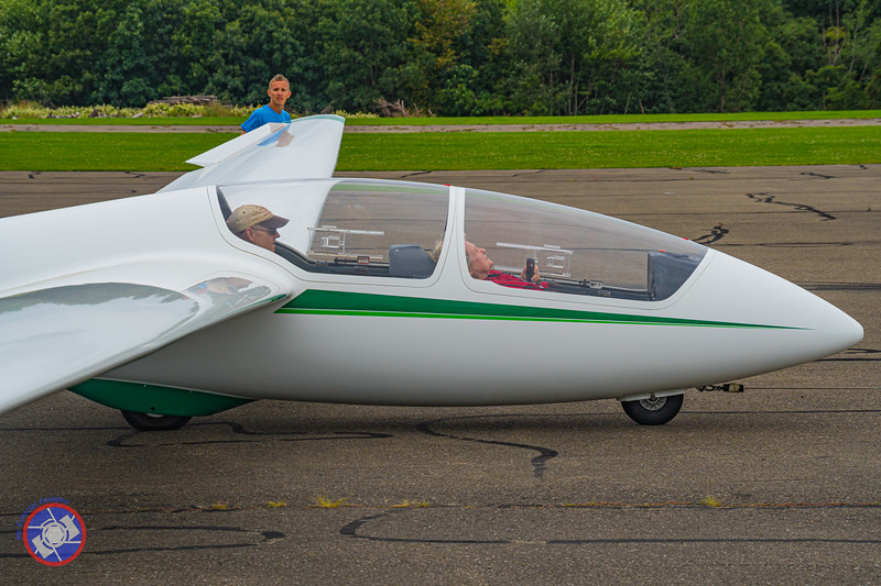 Buckled Up and Ready to Go on My First Sailplane Ride (©simon@myeclecticimages.com)