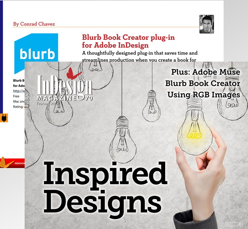 InDesign Magazine, Issue 70: Inspired Designs