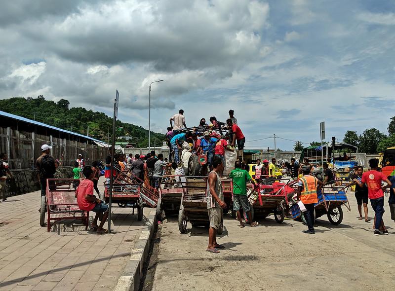 Travel to East Timor - market scene