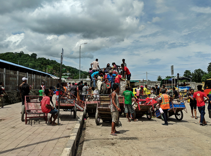Travel to East Timor - market scene
