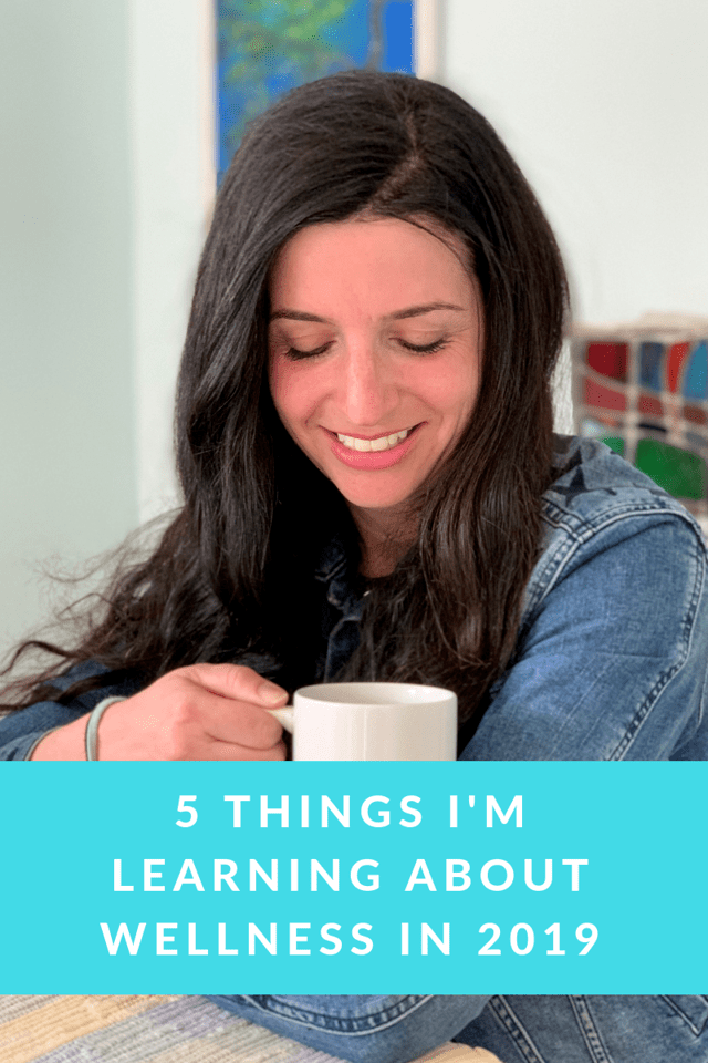 It took a vacation to make me realize some things about wellness in 2019! Here are 5 awesome things I've been learning in the new year. #ad #LiveFlavorfully @CelestialTea