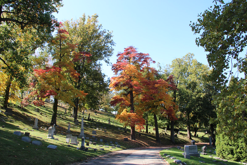 Woodland Cemetery, Dayton, Ohio, 2013 (photo by the author)