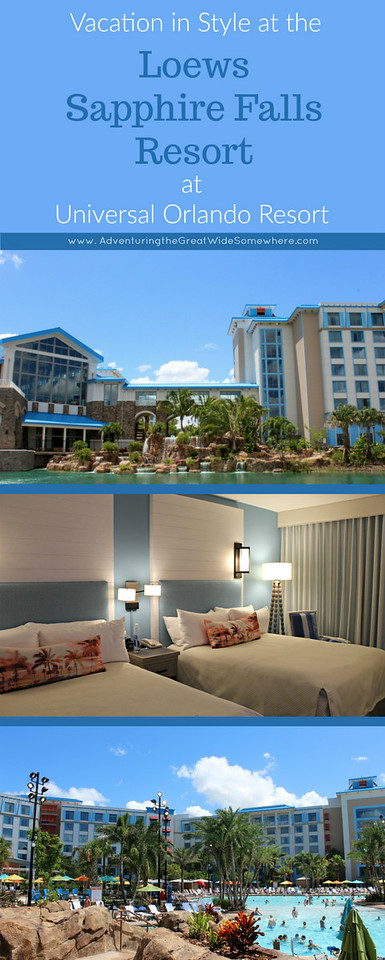 Vacation in Style: A Review of the Loews Sapphire Falls Resort at Universal Orlando Resort