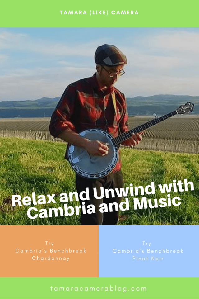 Find out where to get Cambria's Benchbreak Chardonnay & Cambria's Benchbreak Pinot Noir to relax with wine and music notes #ad #CambriaWines #NotesOfCambria