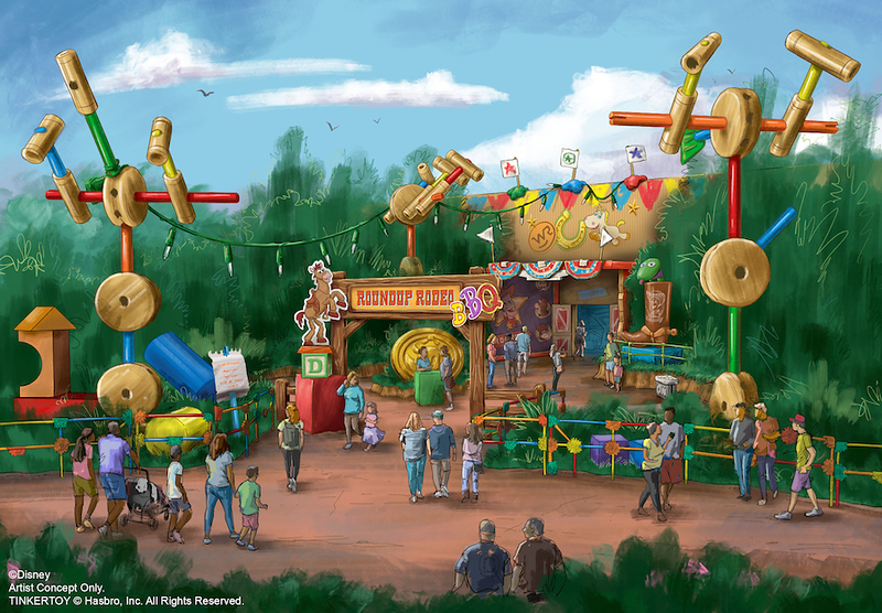 toy story roundup rodeo bbq