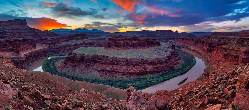 Epic Shots in Moab Goosenecks