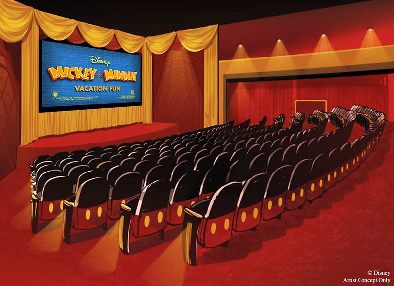mickey mouse shorts theater