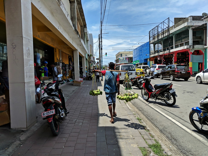 Travel to East Timor - streets of Dili