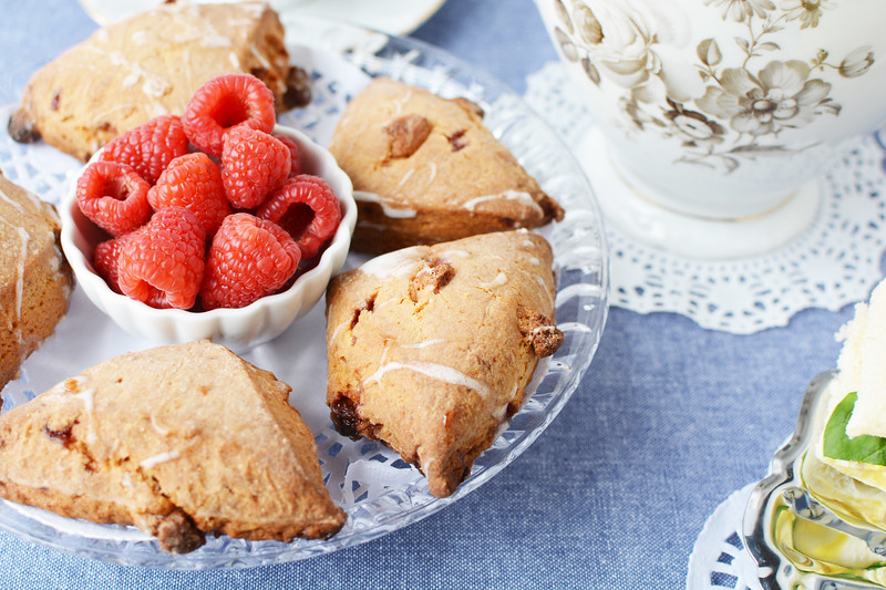 fruit and scones