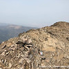 Strawberry Mountain summit ridge.