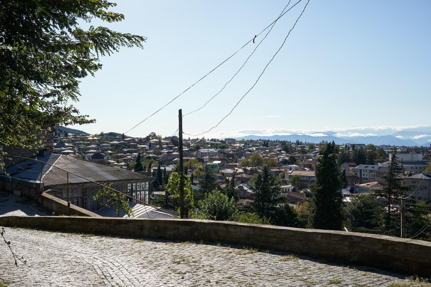 Exploring the backstreets of Kutaisi