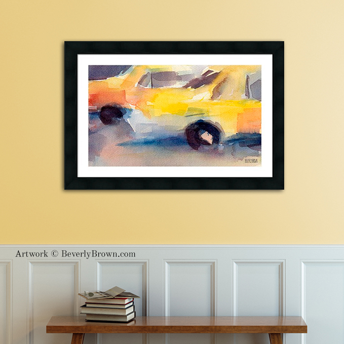 New York City Wall Art - Contemporary Impressionist NYC Artwork ...
