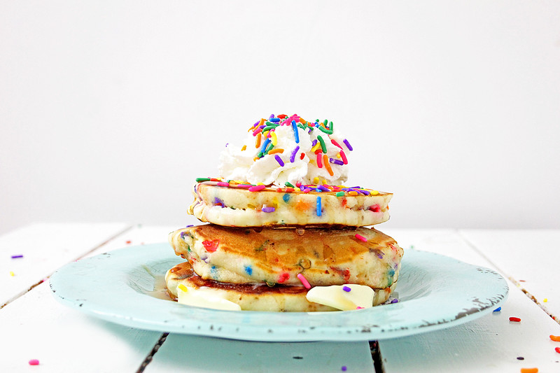 delicious funfetti pancakes for special occasions