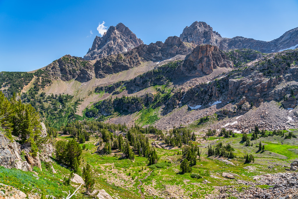 South Fork Cascade Canyon Grand Teton National Park Wyoming