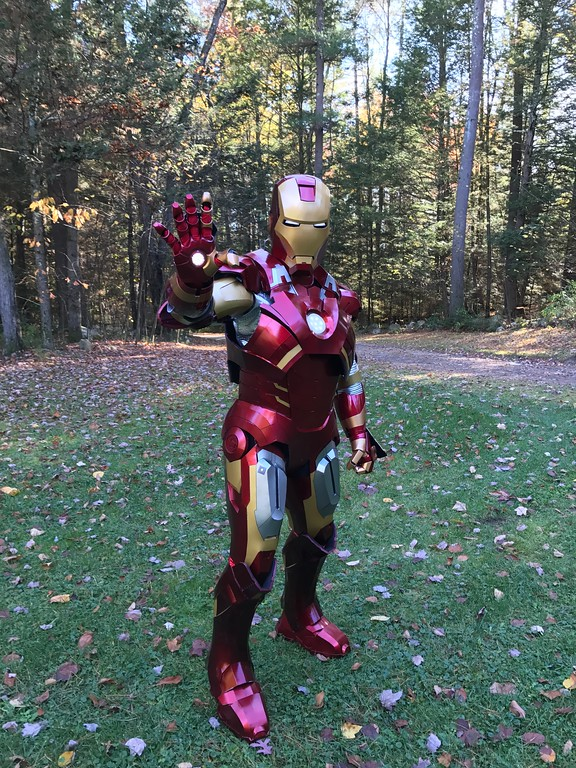 You know we always go big (SO BIG) for #Halloween, and this year was no exception. Here's how Iron Man Takes Halloween in #Northampton, MA for 2017.