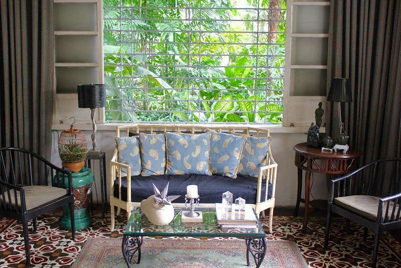 inside one of the houses in the complex of the Henry Hotel Manila