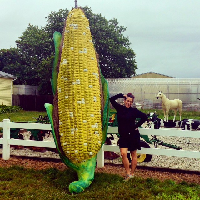 giant corn on the cob roadside attraction