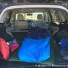 Home sweet home - back of my Subaru